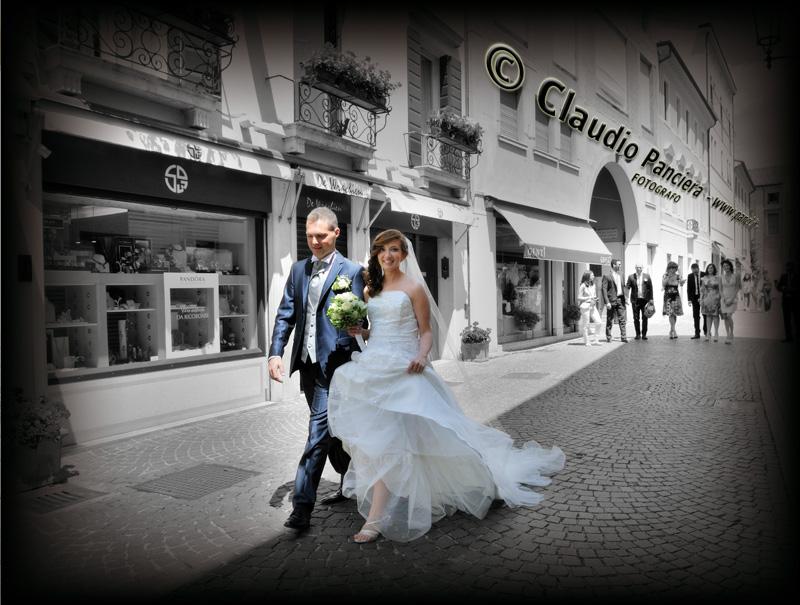 passeggiata marito e moglie
