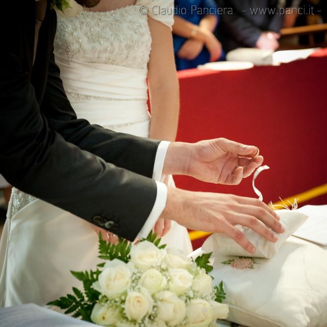 Matrimonio, scambio fedi nuziali