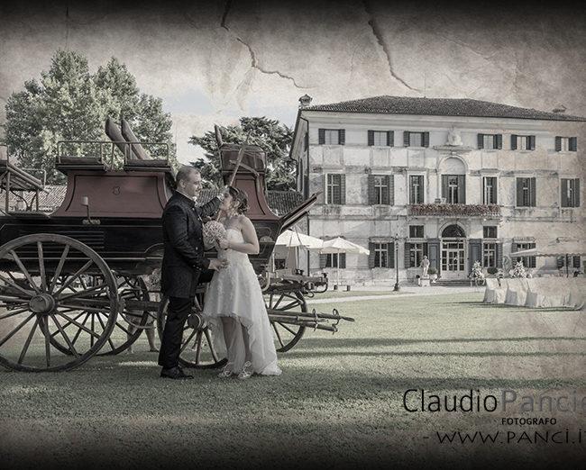 Matrimonio estivo in villa