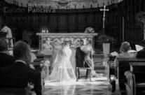 Gli sposi inondati di luce