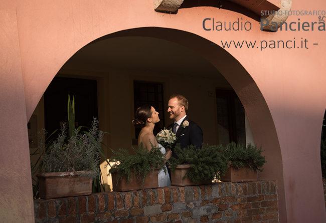 L'ultimo raggio di sole per la fotografia del nostro matrimonio