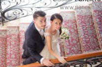 Ritratto di Matrimonio tra riccioli e ricami